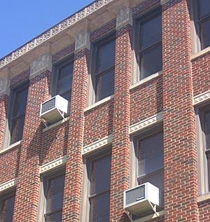 Air conditioner bracket installation nyc local law 11 for Air conditioner bracket law